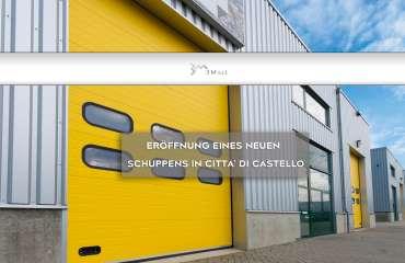 ERÖFFNUNG EINES NEUEN SCHUPPENS IN CITTA DI CASTELLO