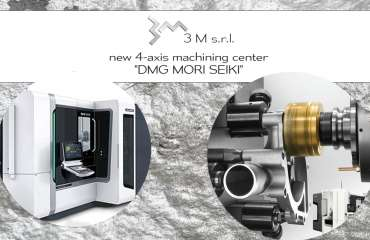 New 4-axis machining center